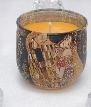 CARMANI - 1990 Gustav Klimt - Der Kuss Duftkerze 02