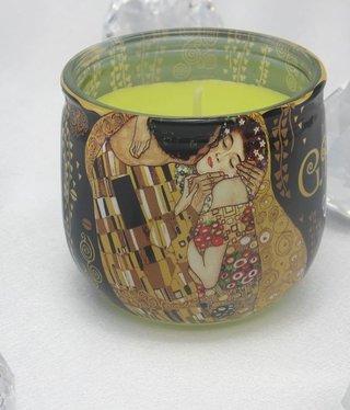 CARMANI - 1990 Gustav Klimt - Der Kuss Duftkerze 04