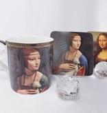 CARMANI - 1990 Leonardo da Vinci - Porzellantassen in Fine Bone China
