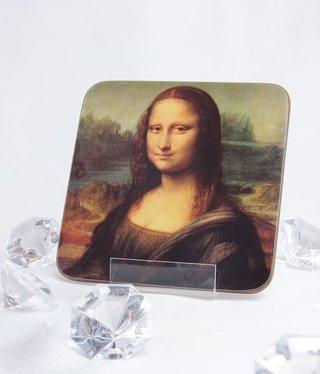 CARMANI - 1990 Leonardo da Vinci - Cork Coasters - Mona Lisa