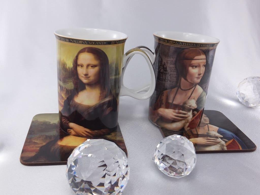 CARMANI - 1990 Leonardo da Vinci - Mona Lisa motif