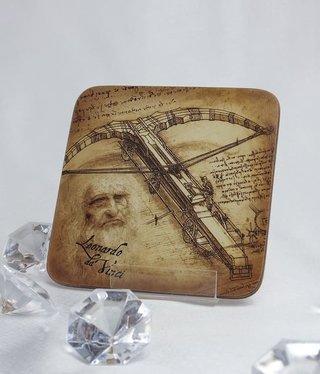 CARMANI - 1990 Leonardo da Vinci - Cork Coaster