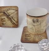 CARMANI - 1990 Leonardo da Vinci - Fighting  Machines - Cork Coasters