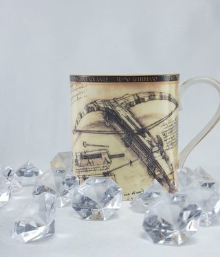 CARMANI - 1990 Leonardo da Vinci - Coffee Cup - Battle Machines