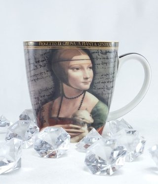CARMANI - 1990 Leonardo da Vinci - coffee cup XL