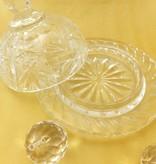Julia - 1842  Crystal glass CARAT - butter dish
