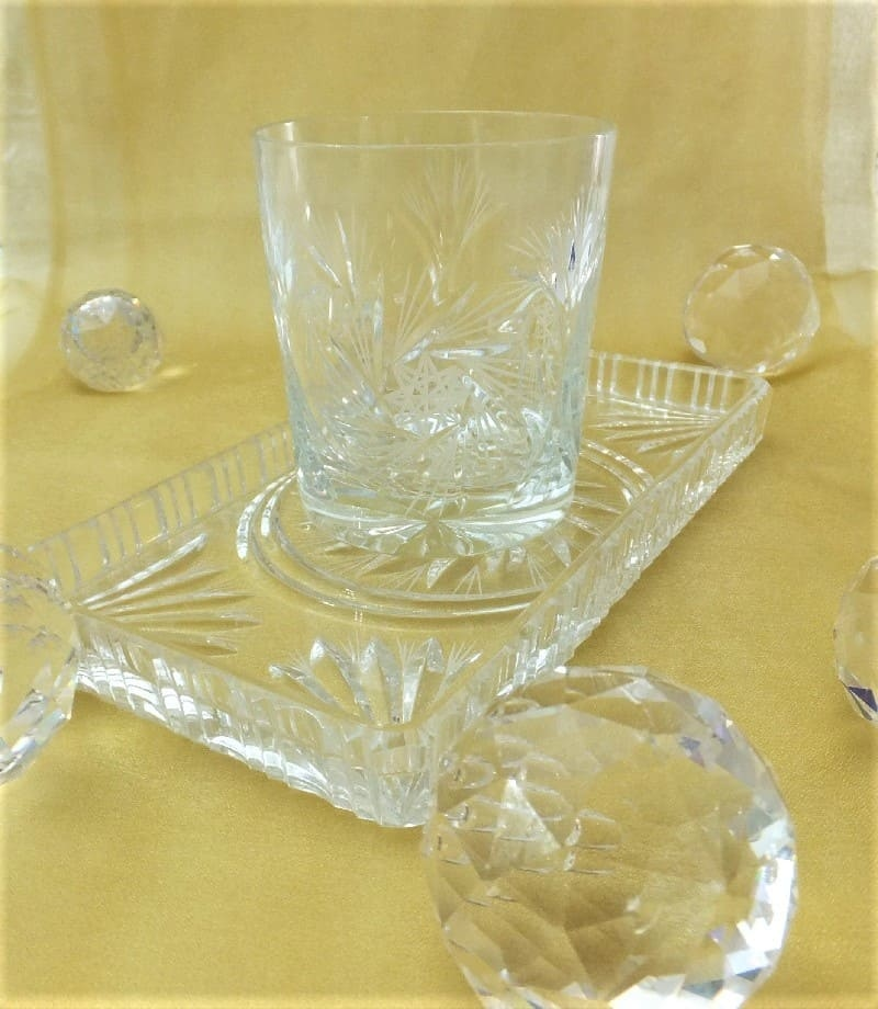 Julia - 1842  Crystal glass CARAT - Crystal glass whiskey glass