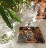 Julia - 1842  Crystal glass CARAT - red wine glass made of cut crystal