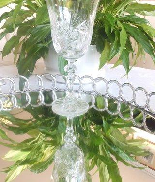 Julia - 1842  Crystal glass - red wine glass