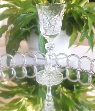 Julia - 1842  Crystal glass - sherry glass