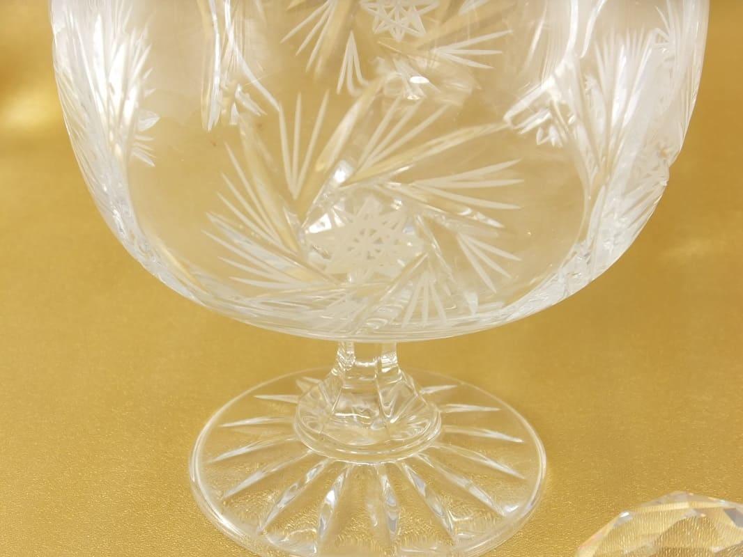 Julia - 1842  Kristallglas - Eisschale aus geschliffenem Kristall