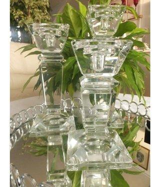 Julia - 1842  Carat - Kerzenständer aus Glas - S