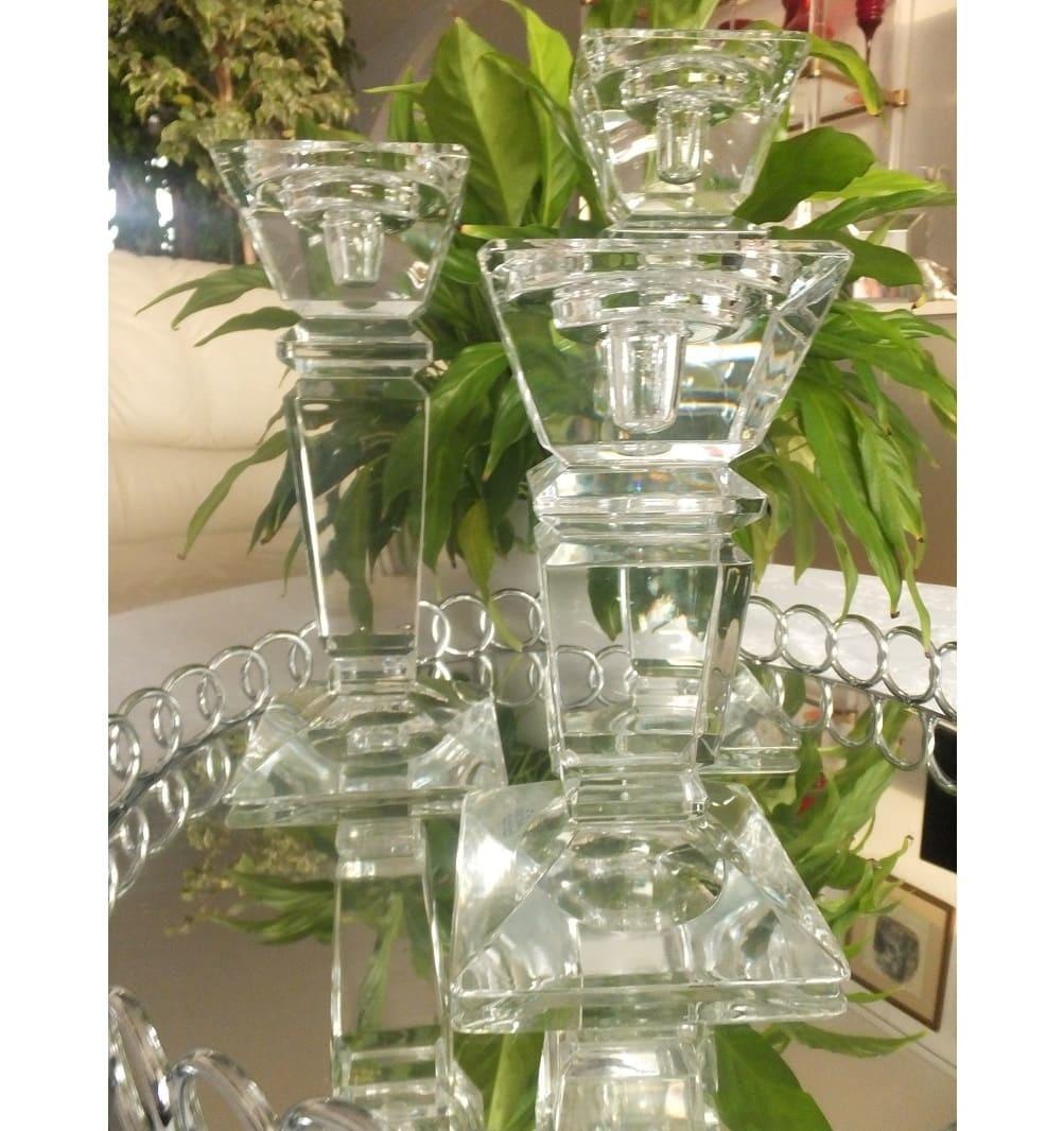 Julia - 1842  Carat - decorative glass candle holder