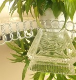 Julia - 1842  Crystal glass CARAT - Tray made of crystal glass