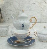 CRISTOFF -1831 Marie - Josée - Kaffeeservice für 6 Personen