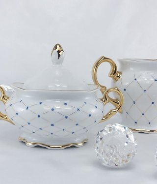 CRISTOFF -1831 Marie - Josee sugar bowl & milk jug