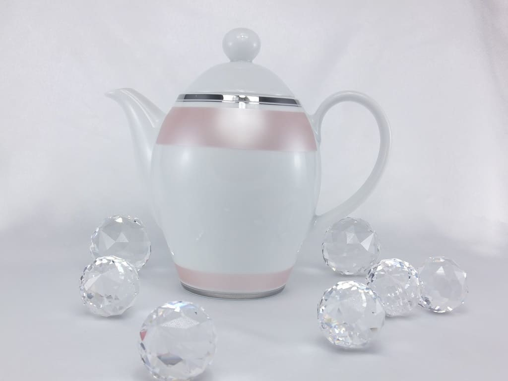 CRISTOFF -1831 Marie - Chantal - Tee- / Kaffeekanne mit Deckel