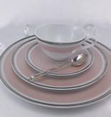 CRISTOFF -1831 Marie - Chantal - Rosé - Tasse mit Untertasse