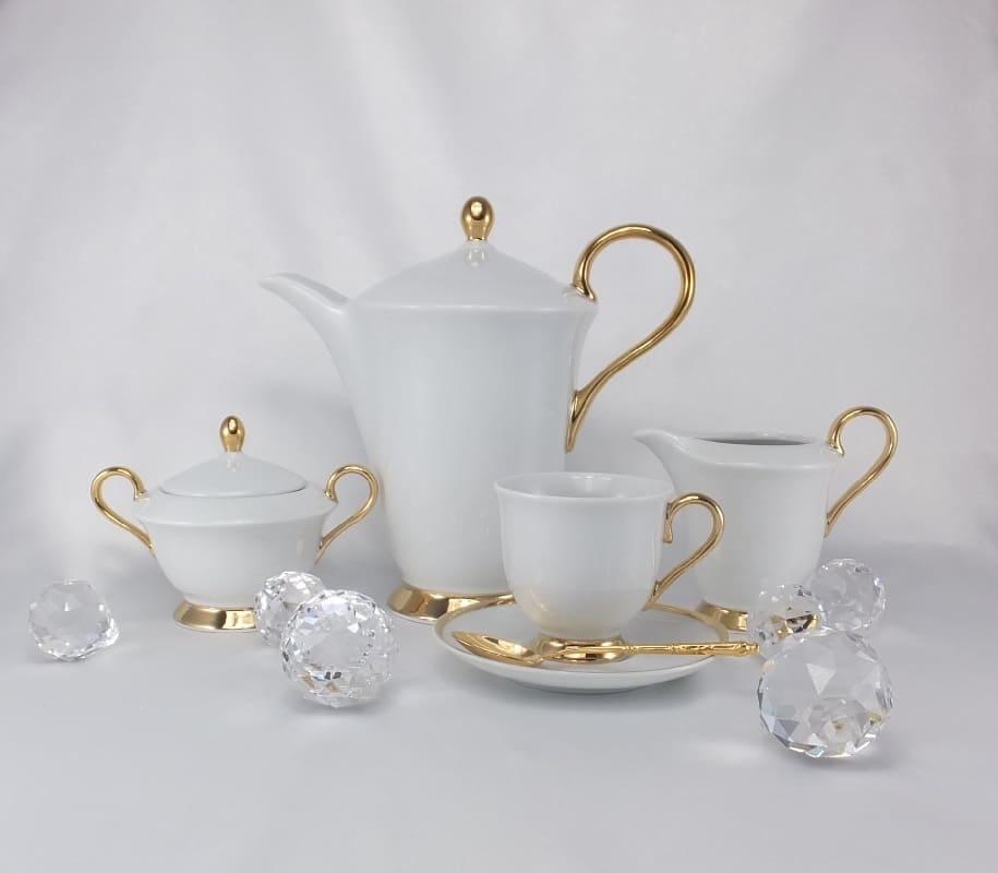 CRISTOFF -1831 Marie - Julie - Gold  ★  Kaffeekanne