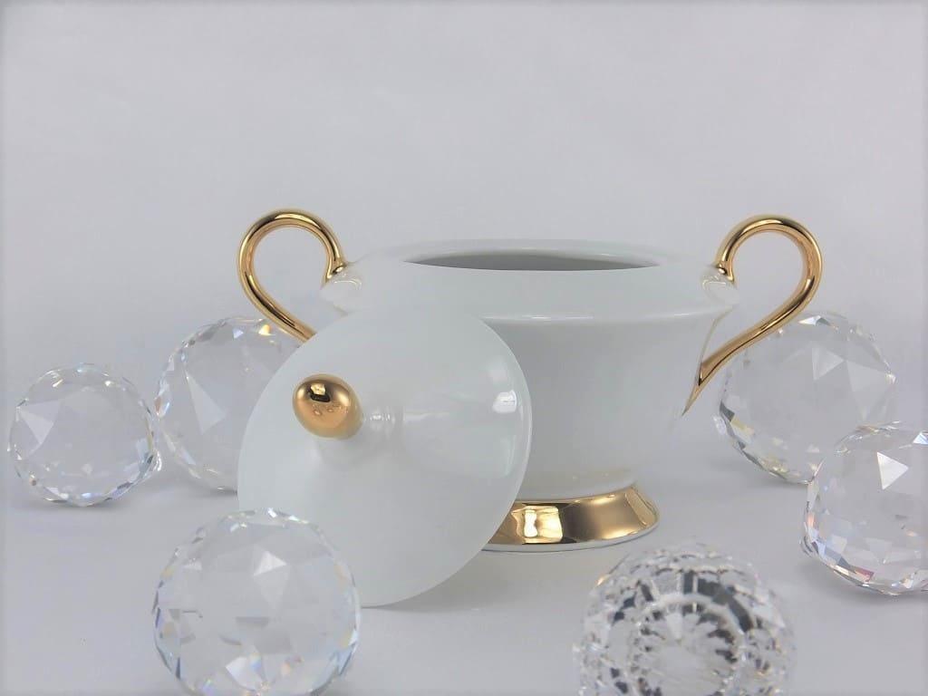 CRISTOFF -1831 Marie - Julie - Gold   ★  Zuckerdose & Milchkanne