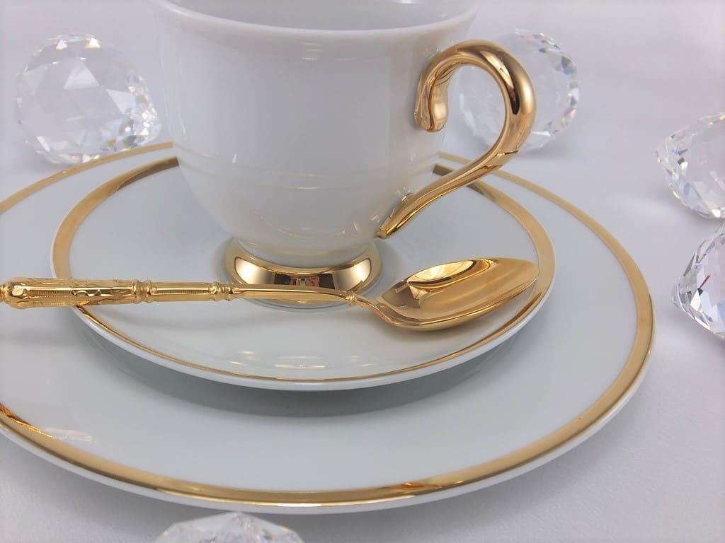 CRISTOFF -1831 Marie - Julie - Gold  ★   Porzellanteller