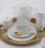 CRISTOFF -1831 Marie - Joelle - Lustre  Kaffeeservice für 6 Personen