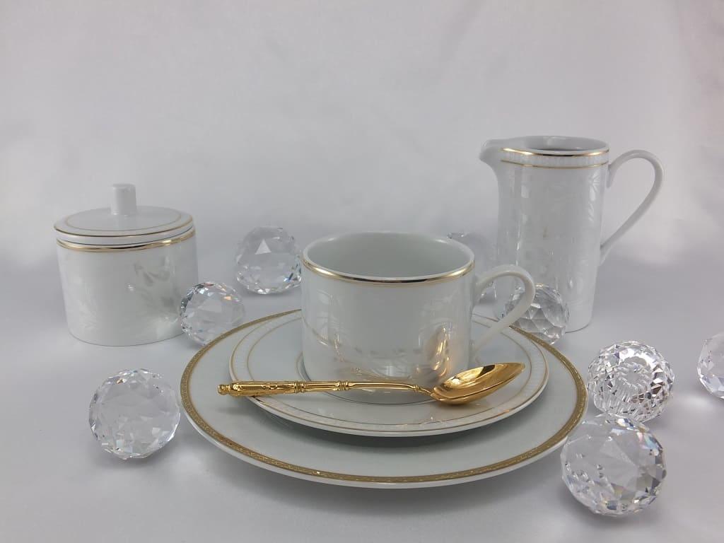 CRISTOFF -1831 Marie - Joelle - Luster Milk Jug & Sugar Bowl
