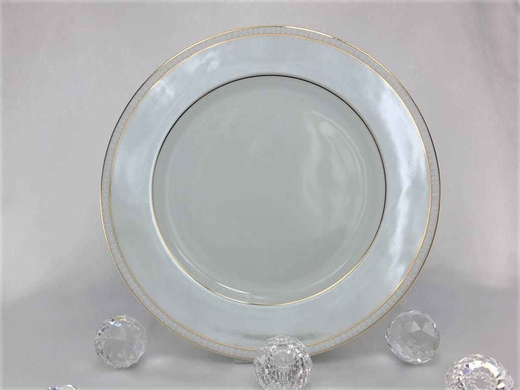 CRISTOFF -1831 Marie - Joelle - Luster porcelain plate