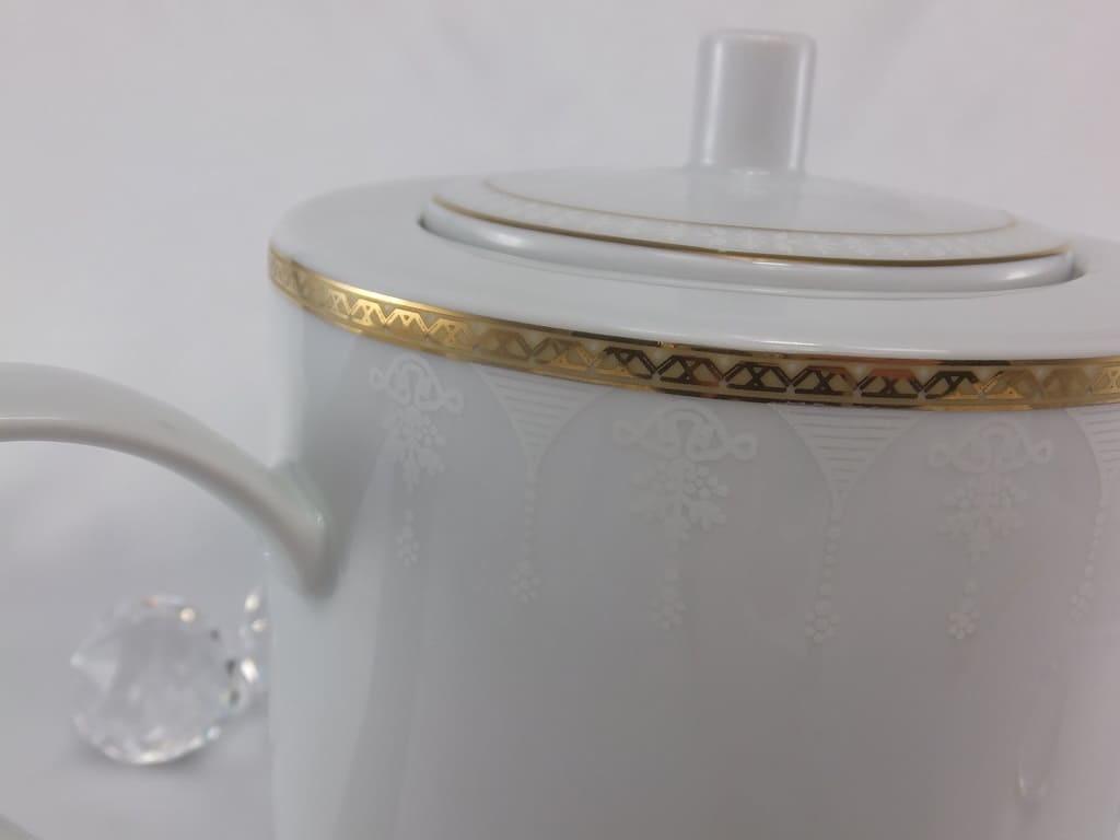 CRISTOFF -1831 Marie - Jeanne - Gold  Kaffeekanne