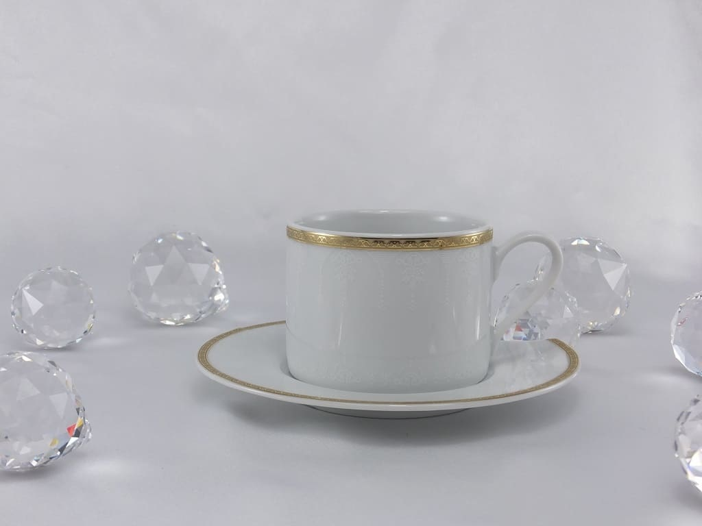 CRISTOFF -1831 Marie - Jeanne - Gold Cup & Saucer