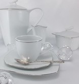 CRISTOFF -1831 Marie - Christine - Platin  Kaffeekanne 1,2 L