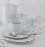 CRISTOFF -1831 Marie - Christine - Platinum coffee pot 1,2 L