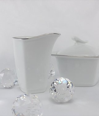 CRISTOFF -1831 Marie - Christine - milk can / sugar bowl