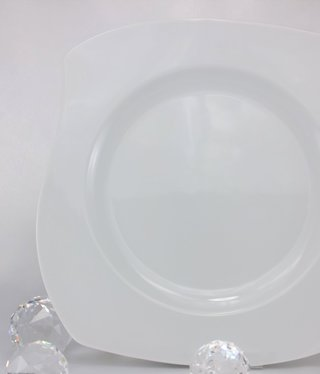 CRISTOFF -1831 Marie - Christine - white - porcelain plate