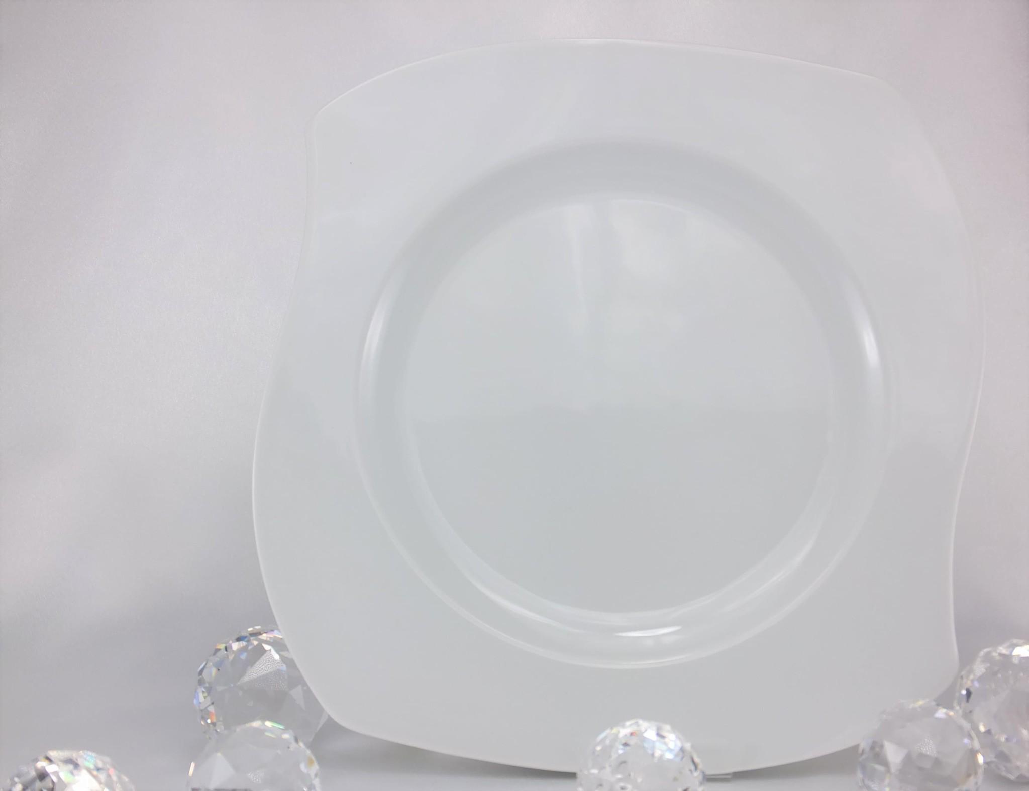 CRISTOFF -1831 Marie - Christine in white porcelain plate
