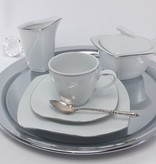 CRISTOFF -1831 Marie - Christine Platin - Coffee service for 6 persons