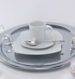 CRISTOFF -1831 Marie - Christine Weiß  - Kaffeeservice für 6 Personen