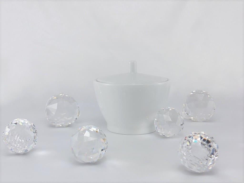 CRISTOFF -1831 Marie - Blanche - milk can & sugar bowl