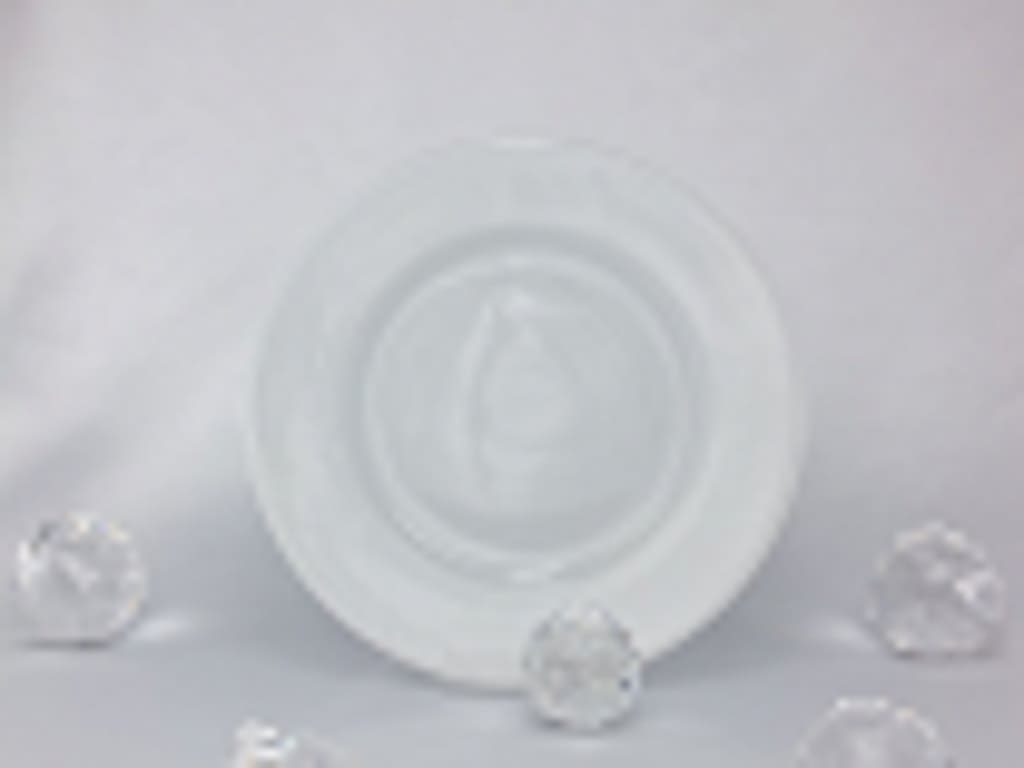 CRISTOFF -1831 Marie - Blanche porcelain plate
