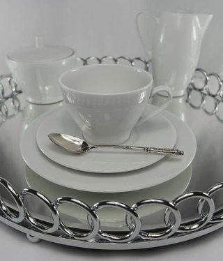 CRISTOFF -1831 Marie - Blanche - Weiß - Kaffeeservice 6/15