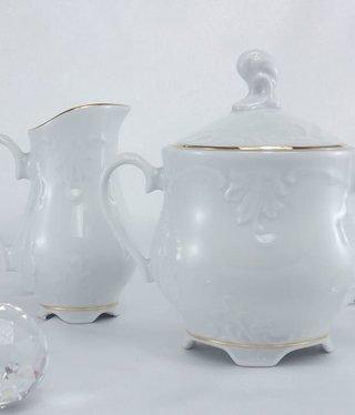 Cmielow - 1790 Marie - Luise -Gold - Milchkanne / Zuckerdose