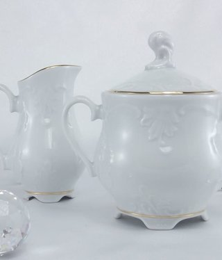 Cmielow - 1790 Marie - Luise -Gold - milk can / sugar bowl