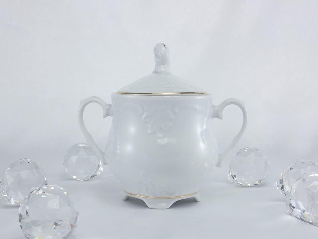 Cmielow - 1790 Marie - Luise -Gold - Milchkanne   & Zuckerdose