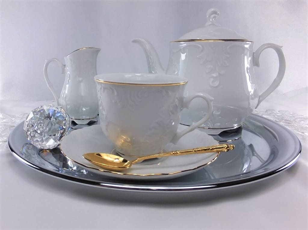 Cmielow - 1790 Marie - Luise -Gold - cup with saucer