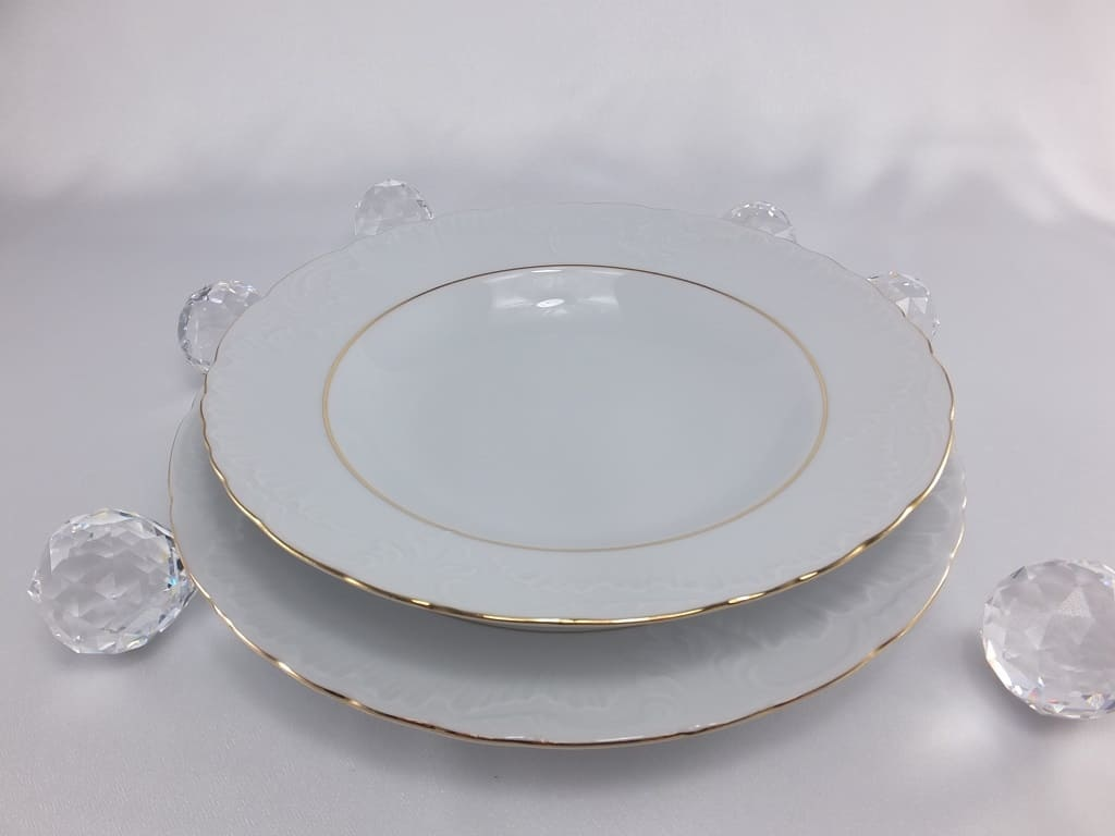 Cmielow - 1790 Marie - Luise - Gold - Porcelain Plate