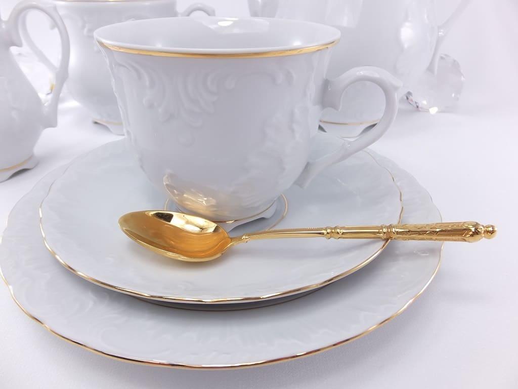 Cmielow - 1790 Marie - Luise - Gold - Porzellanteller