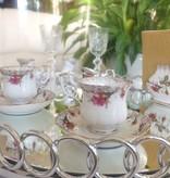 CHODZIEZ 1852 Marie Rose - Espresso cup with gold rim