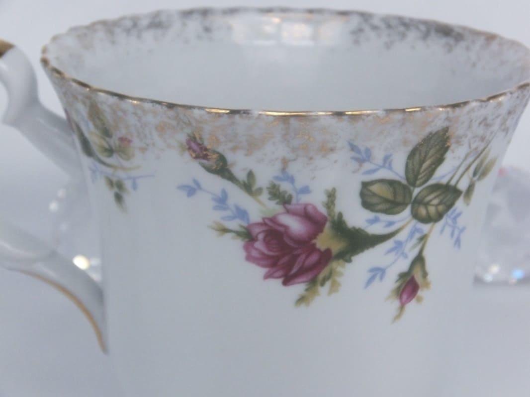 CHODZIEZ 1852 Marie -Rose - XXL coffee cup with gold rim