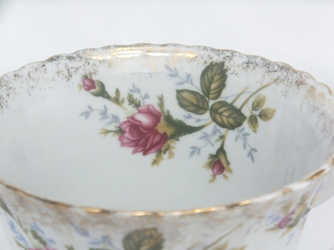 CHODZIEZ 1852 Marie -Rose - XXL Kaffeetasse  mit Goldrand