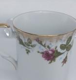 CHODZIEZ 1852 Marie -Rose - Coffee cup classic with gold rim